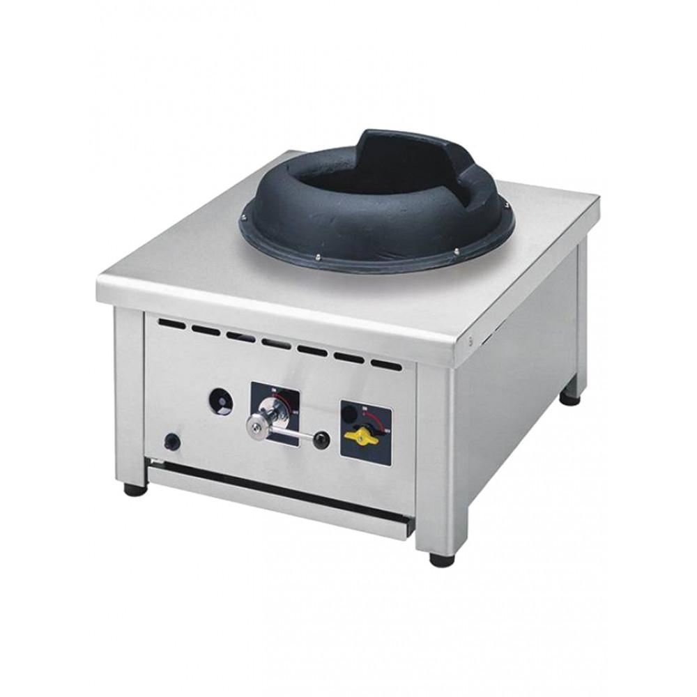 Tafelmodel wok 28kW gas fornuis - WGF1-6/T - Diamond