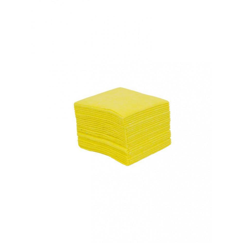 Reinigingsdoek - Viscose - 38 cm - Geel - 10509925