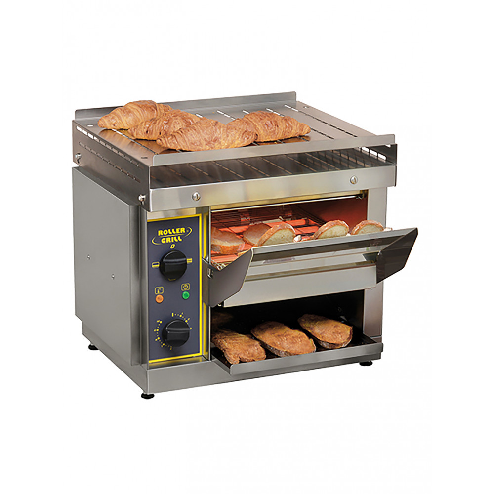 Conveyor Toaster - H 45.5 x 51 x 68 CM - 21 KG - 220 - 240 V - 2650 W - RVS - Roller Grill - 304020