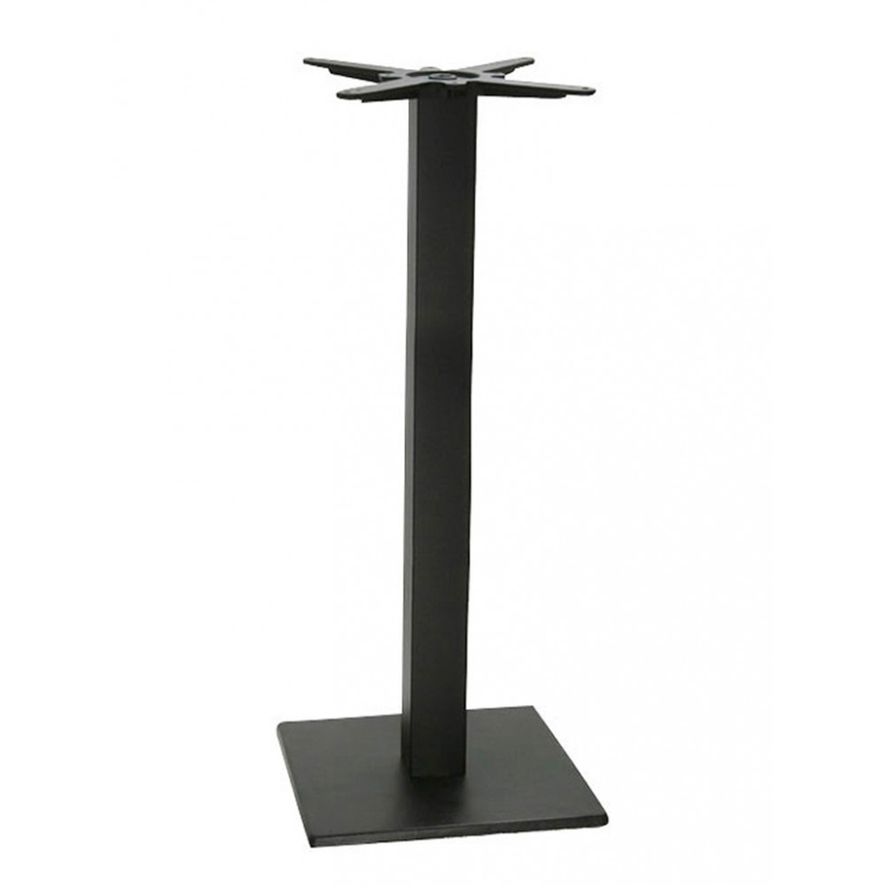 Bar tafelonderstel - 40x40 cm - Zwart - Promoline