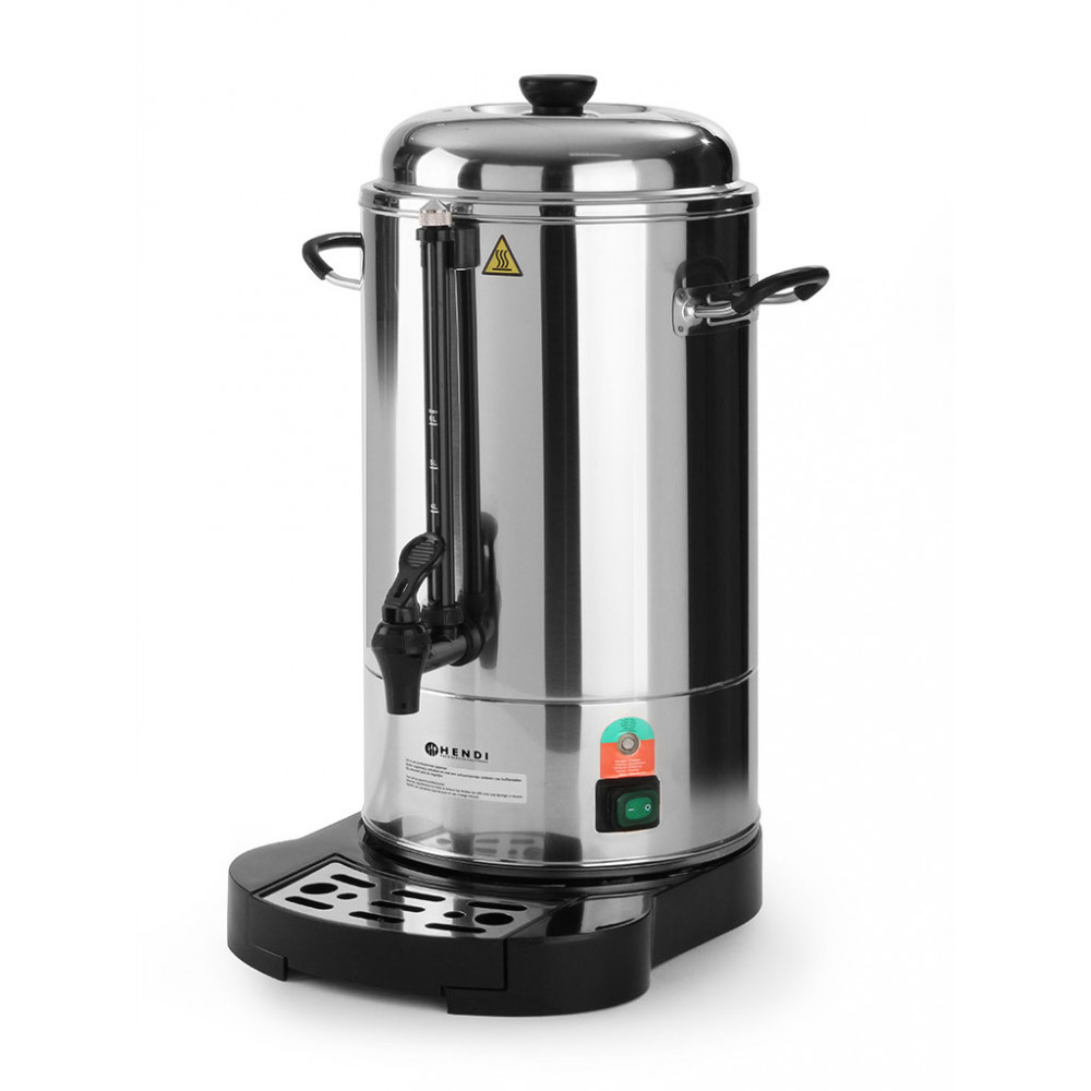 Koffie percolator - 6 liter - Dubbelwandig - Hendi - 211106