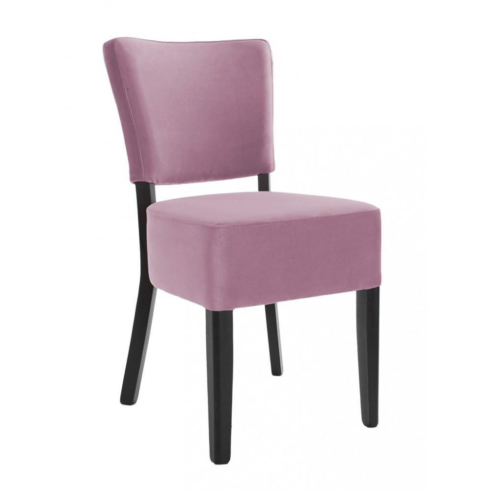 Horeca stoel - Rome - Velvet - Roze