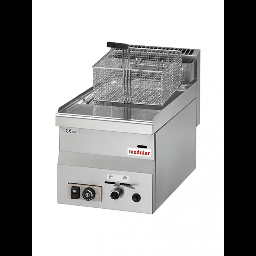 Friteuse - 8 Liter - Aardgas - 30x60 cm - Modular - 316650
