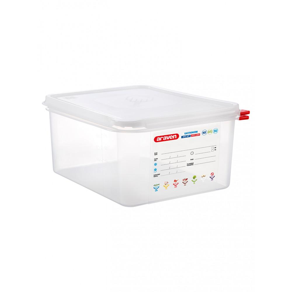 Voedseldoos - 1/2 GN - 150 mm diep - Polypropyleen - Promoline