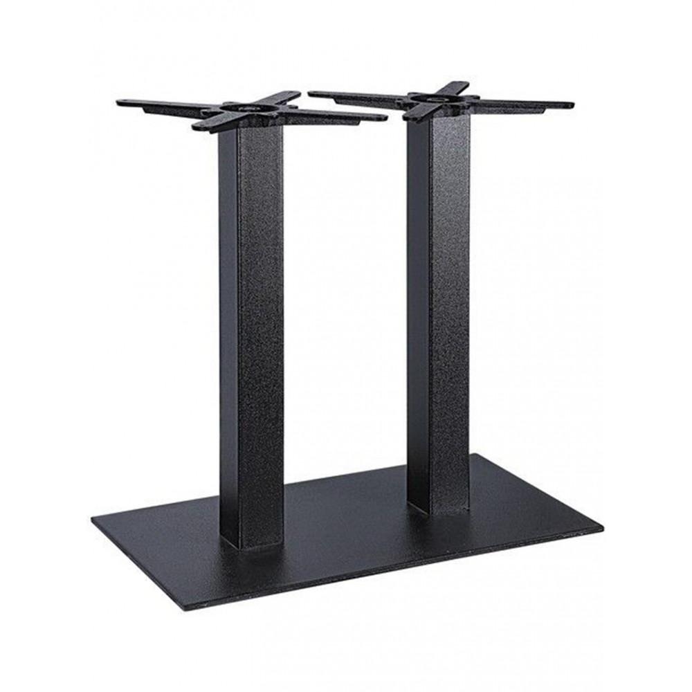 Bar onderstel - Gietijzer - 70 x 40 CM - Zwart - Promoline