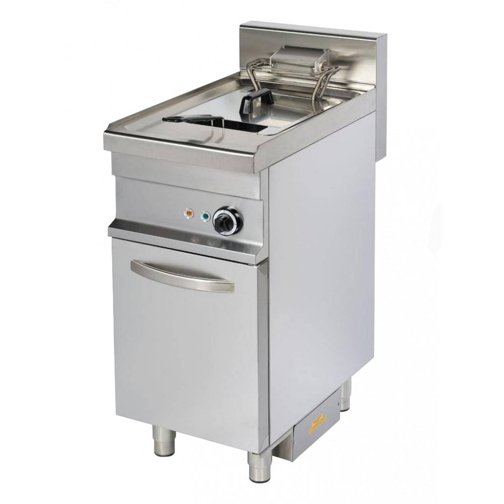 Promoline - 10 liter - Open onderstel - 400V / 9kW elektrisch | Horeca friteuse