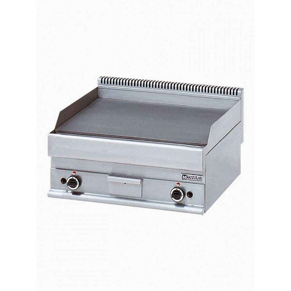 Modular Gas Bakplaat Propaan - Glad - 650 Line