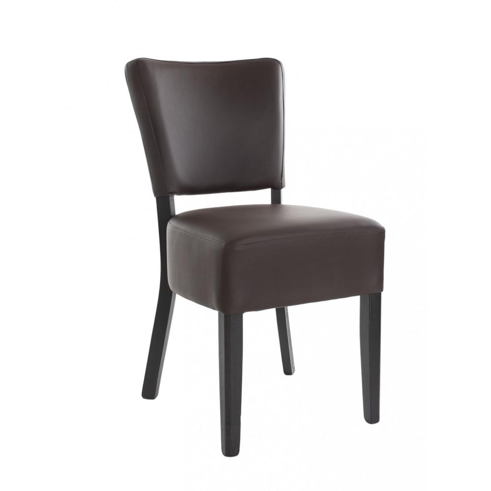 Horeca stoel - Rome - Bruin - Promoline