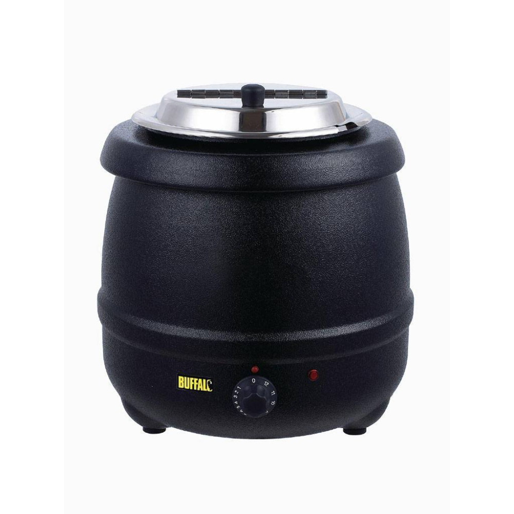 Soepketel - Zwart - 10 liter - L715 - Buffalo