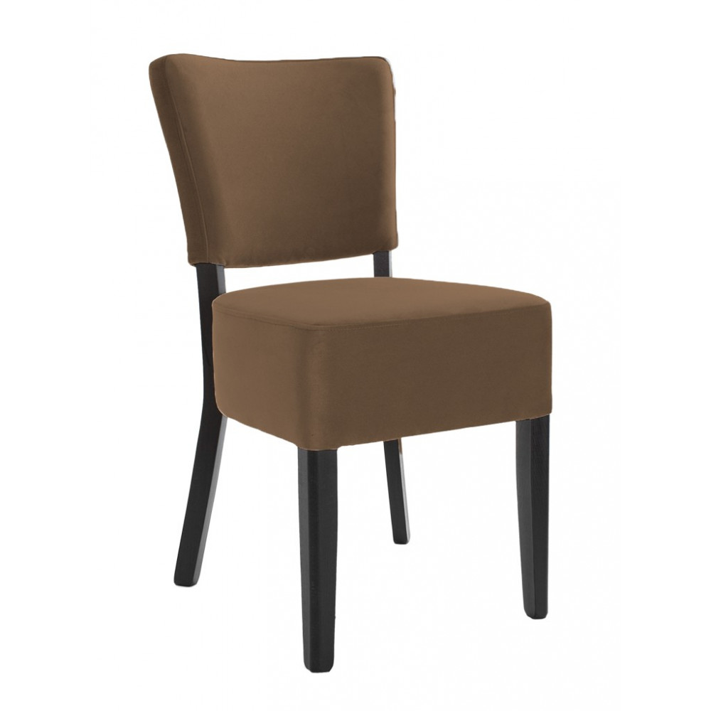 Horeca stoel - Rome - Velvet - Bruin