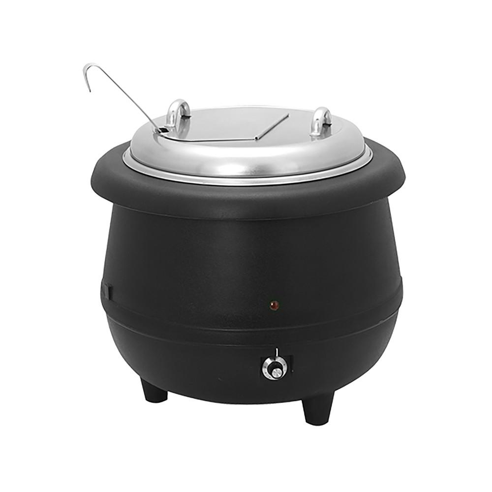 Soepketel - H 38 CM - 5.1 KG - Ø38.5 CM - 220 - 240 V - 380 W - Polypropyleen - 10 Liter - Met Lepel En Greep Uitsparing - 861090