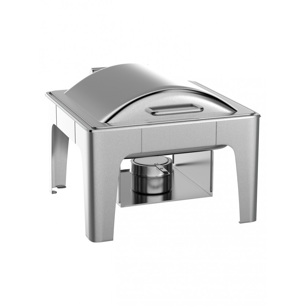 Chafing dish - Deluxe - 2/3 GN - RVS - 6 Liter - Promoline