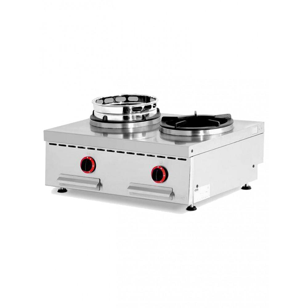 Wok - Gas - Tafelmodel - 2 Vuren - WGX2-8/T - Diamond