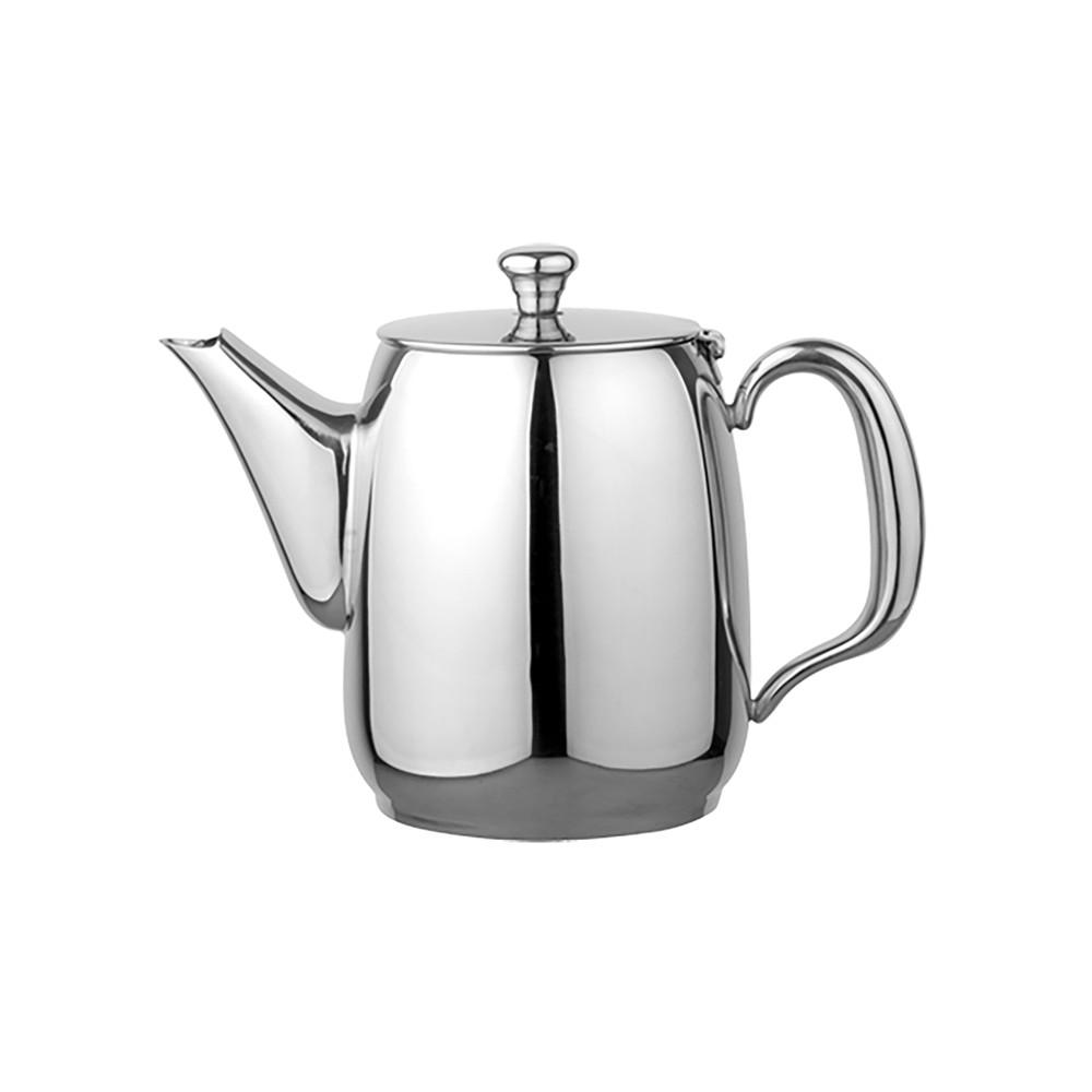 Koffiepot - H 15 CM - 0.54 KG - Ø12 CM - RVS 18/10 - 1 Liter - 635009