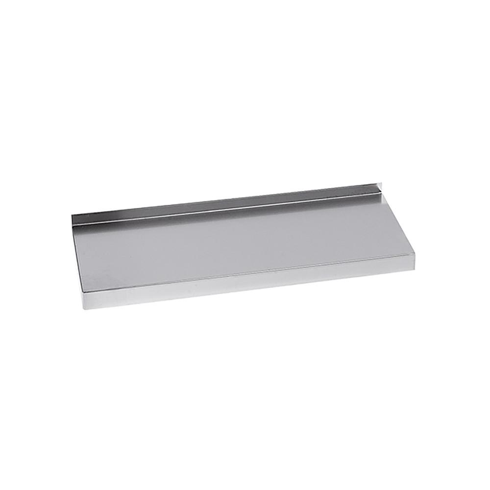 Wandplank - H 4 x 100 x 30 CM - 2.6 KG - RVS - Multinox - 317080