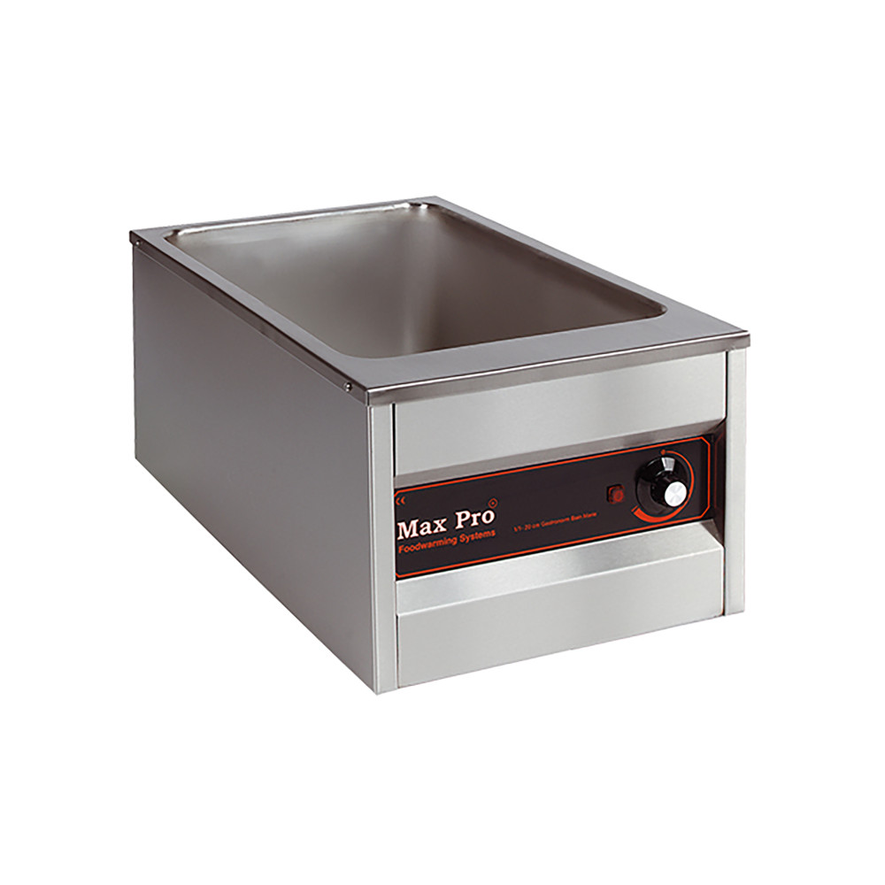 Bain Marie - H 30.6 x 39.9 x 65.5 CM - 10 KG - 220 - 240 V - 1000 W - RVS - MaxPro - 921250