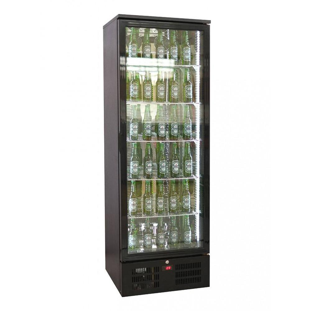 Promoline - 293 liter - 1 deurs | Koelkast glazen deur