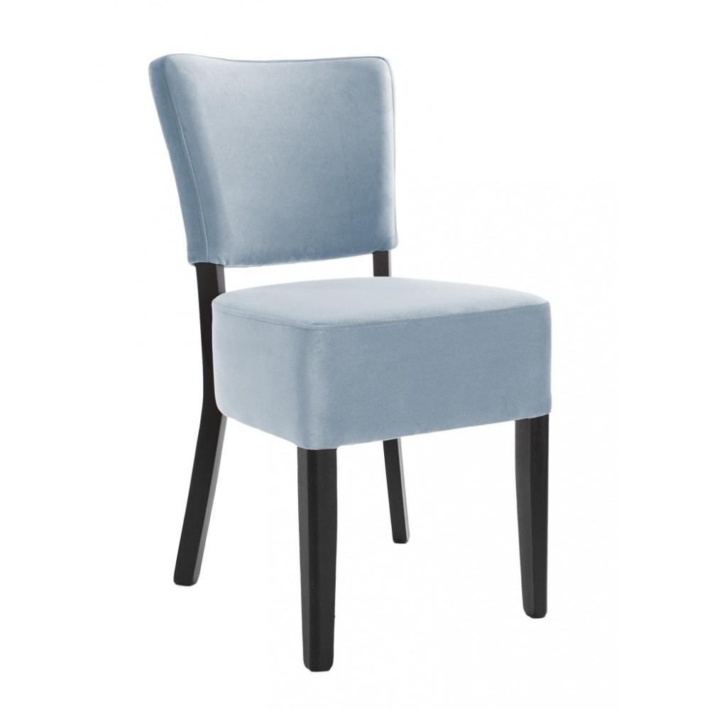 Horeca stoel - Rome - Velvet - Lichtblauw