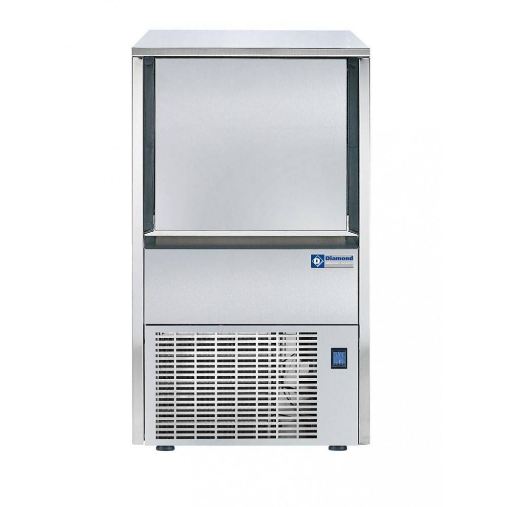Ijsblokjesmachine 38 Kg / 24u - Holle Blokjes - Lucht - MXP-45A/N - Diamond