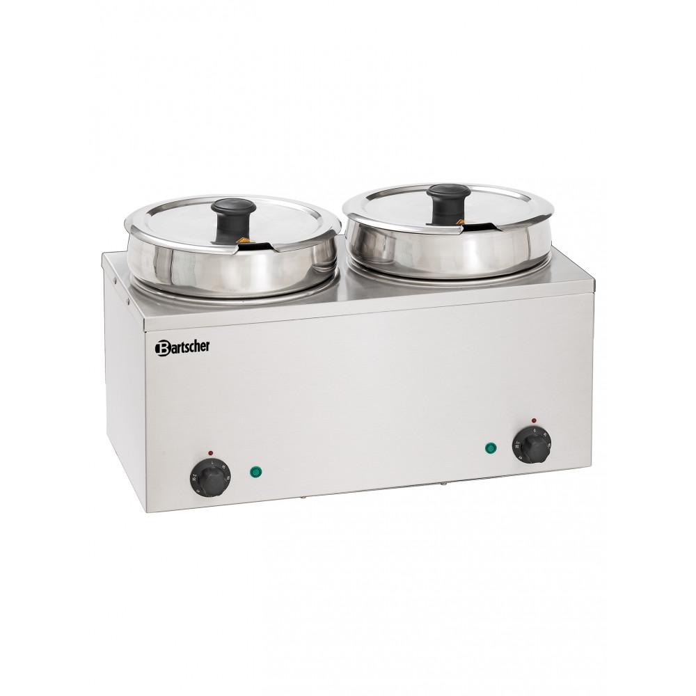 Bain-Marie - Rond - 2 x 6.5 Liter - Bartscher - 606065