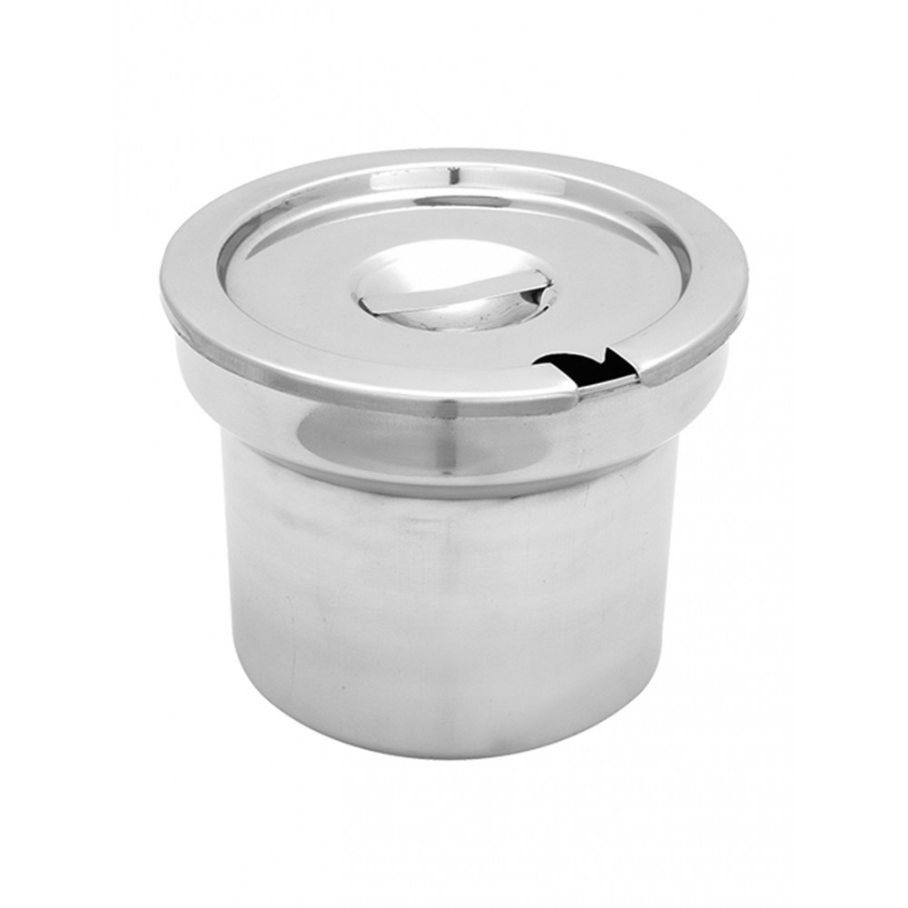 Bain-Marie Pot - Met Deksel - 17 CM - Max Pro - 861110