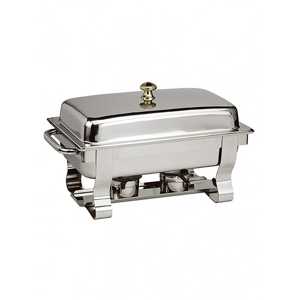 Chafing Dish - H 34.2 x 64.8 x 37.2 CM - 7 KG - RVS - MaxPro - 921150