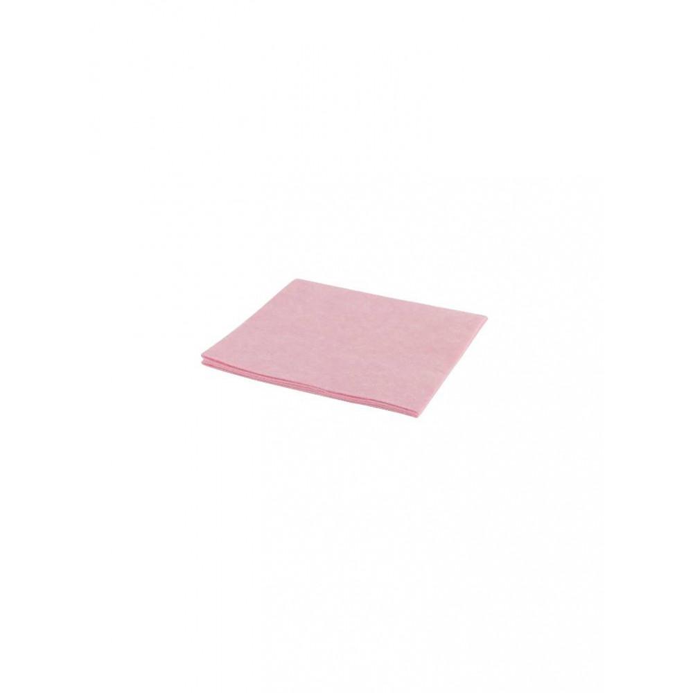 Reinigingsdoek - Viscose - 38 cm - Roze - 102098
