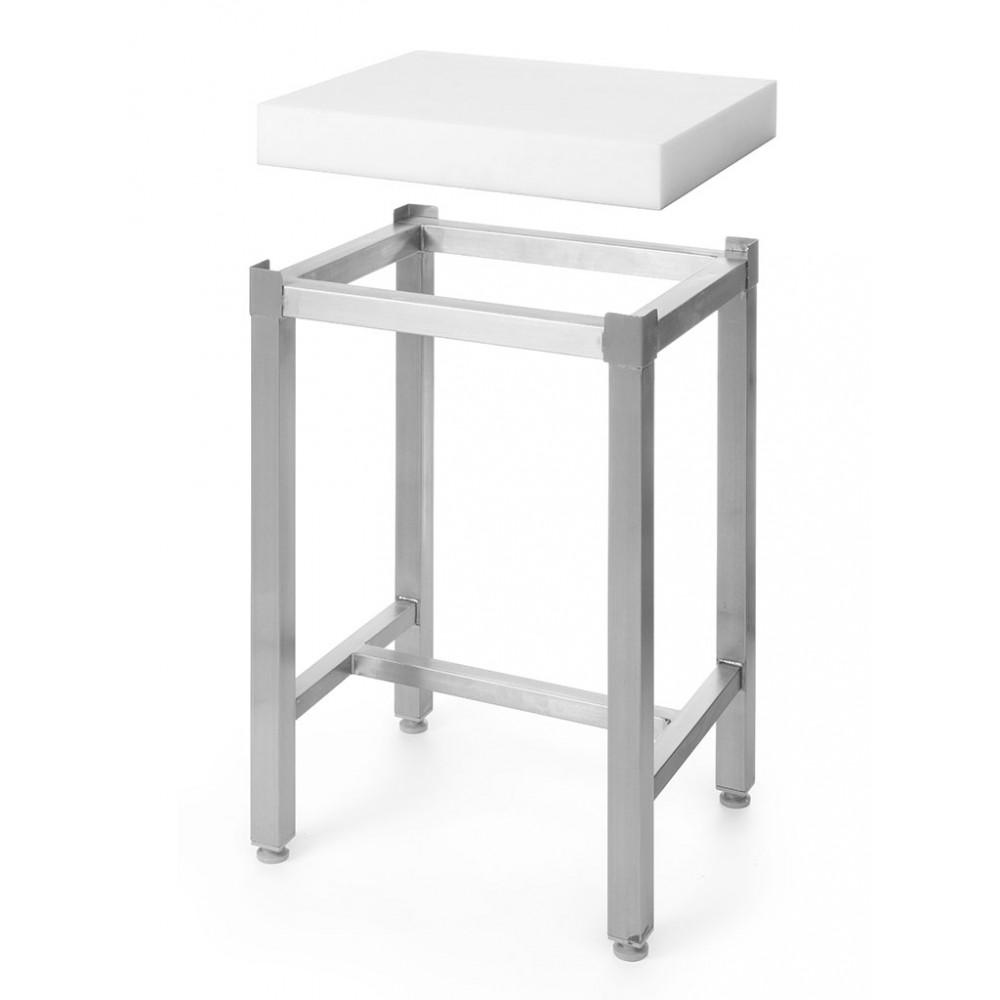Hakblok - Polyethyleen - 80 cm - Onderstel - Hendi - 505687