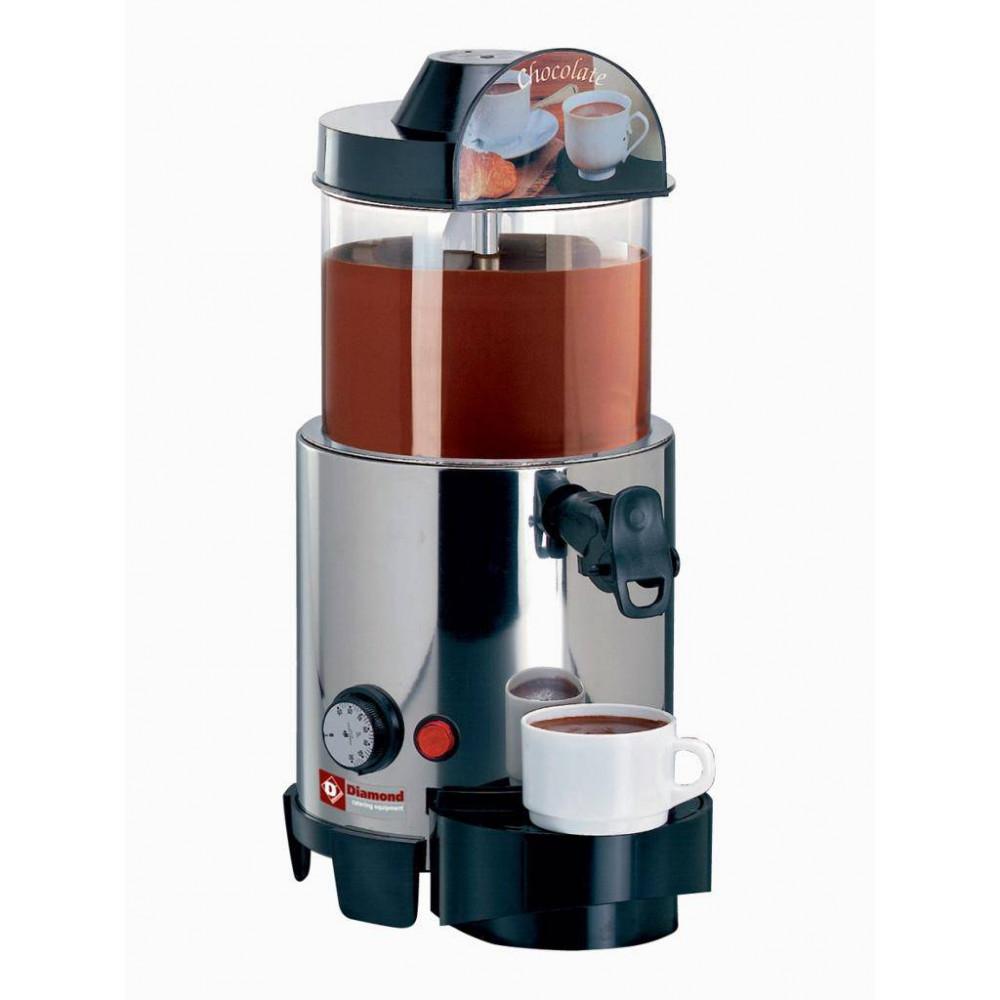 Warme drankenverdeler - 5 liter - Structuur in RVS - CIOCAB - Diamond