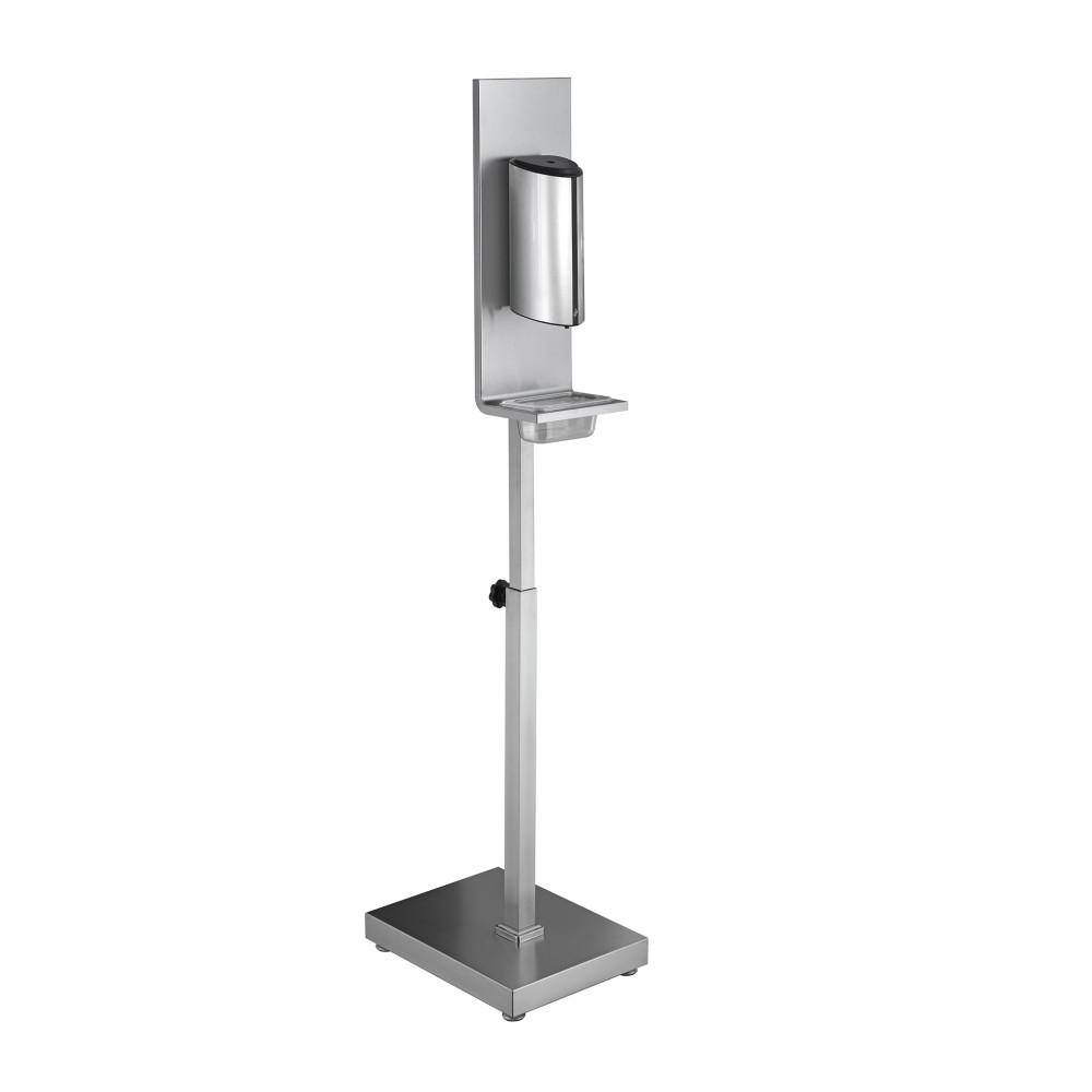 Desinfectie zuil RVS - Zware kwaliteit - Met Sensor Incl. contactloze dispenser - 850 ML