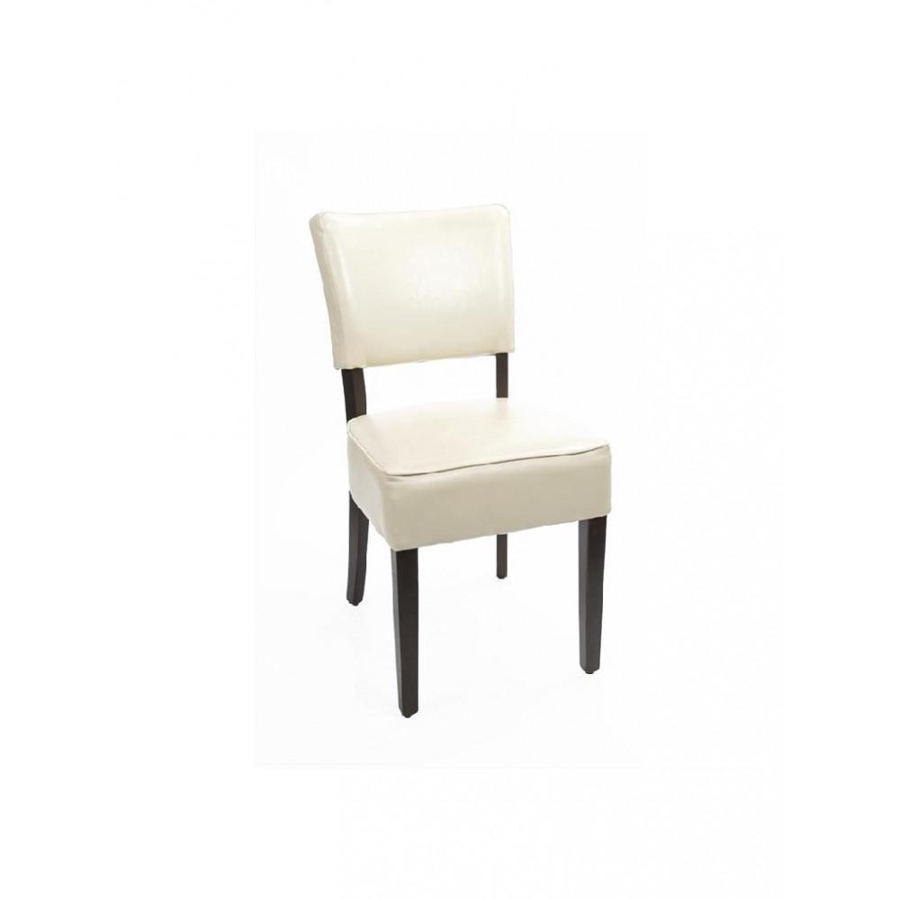 Kunstlederen stoel - Beige - 2 stuks - Bolero - GF958
