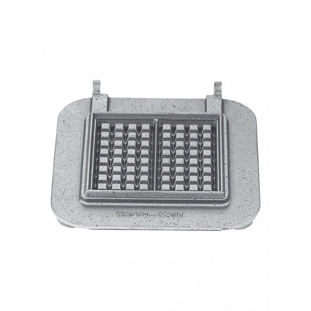 Wafel - Wisselplaten set 2 stuks - Gietijzer - 308081