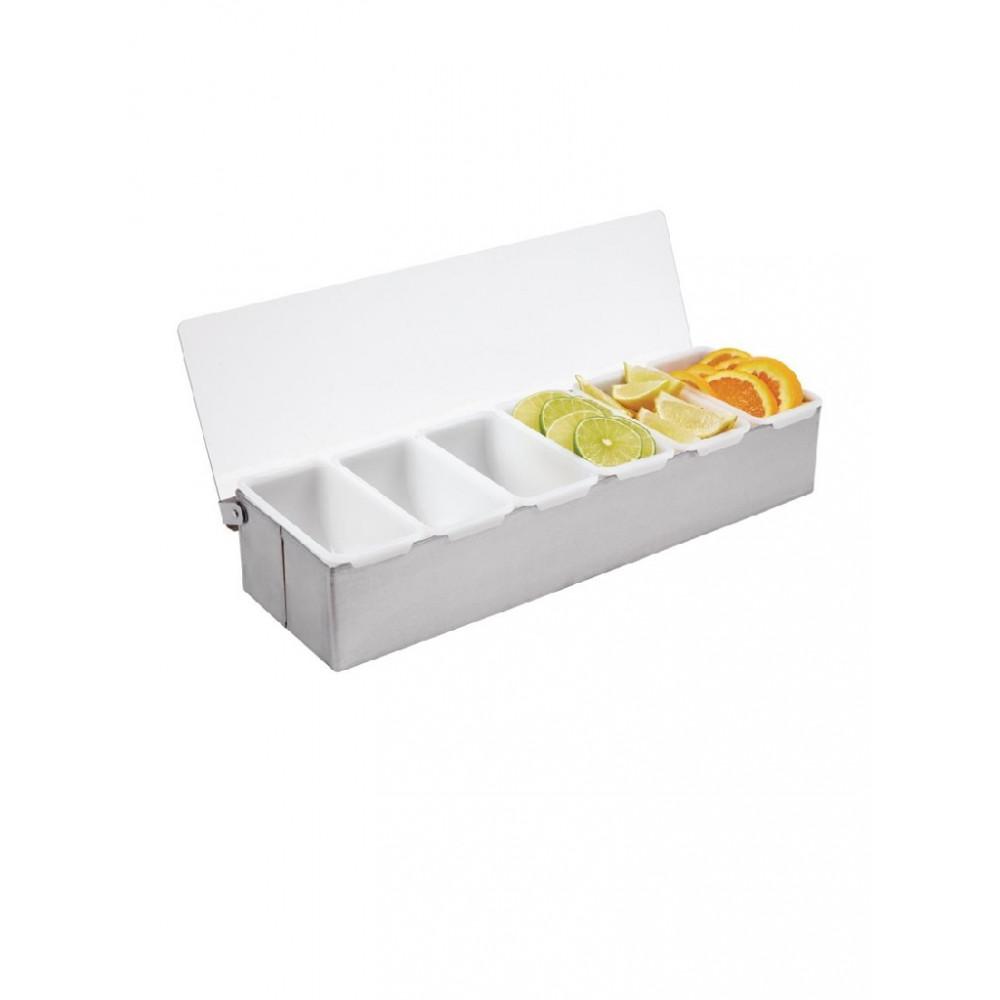 Olympia ingrediëntenbak met 6 bakjes - K489