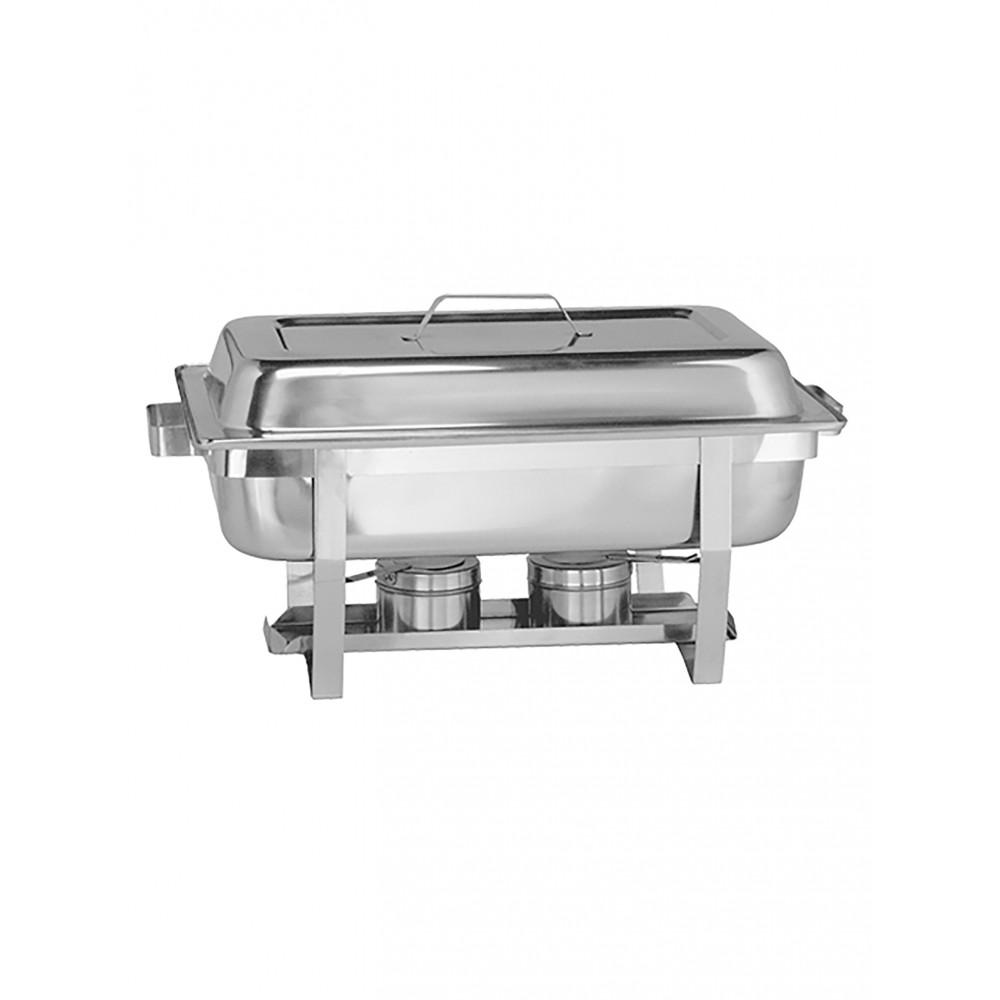 Chafing Dish - H 30.2 x 60.5 x 35.3 CM - 7 KG - RVS - MaxPro - 921125