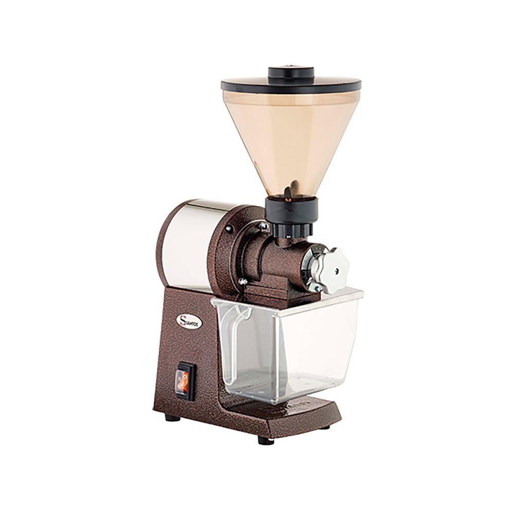 Koffiemolen - H 55 x 25 x 32 CM - 14 KG - 220 - 240 V - 600 W - RVS - Santos - 408001