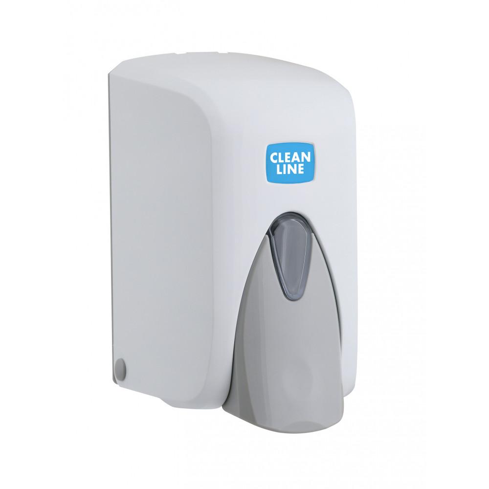 Zeepdispenser - Universeel - 500ml - Wit - Promoline - Cleanline