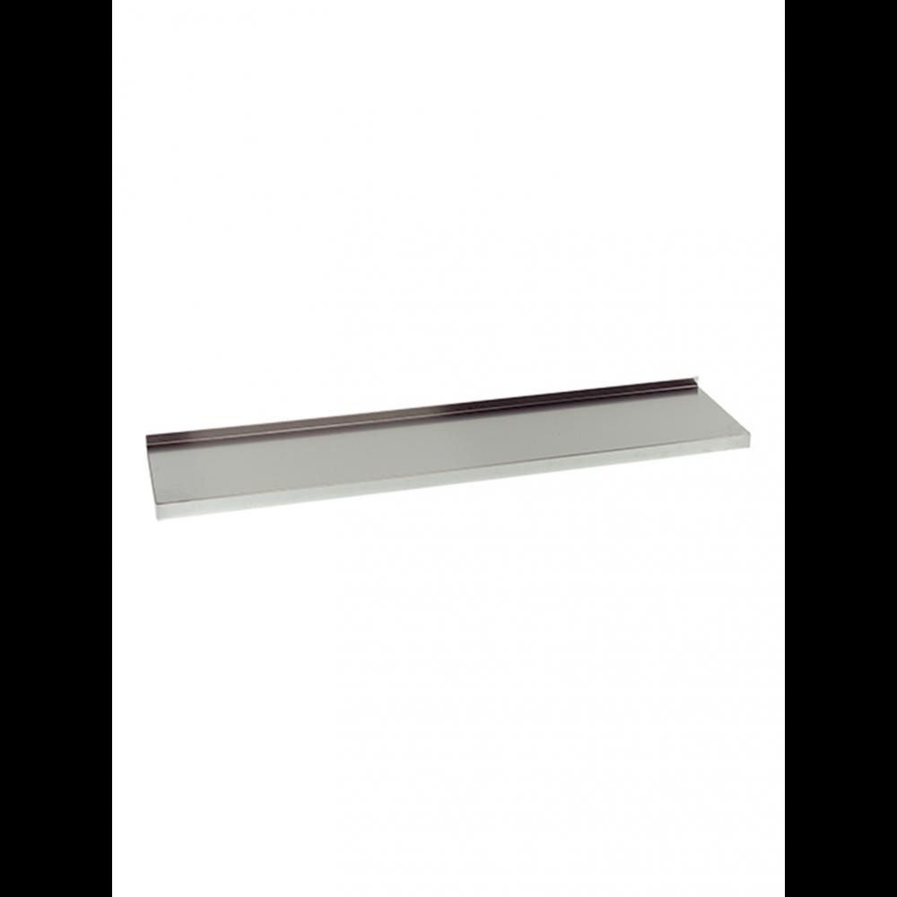Wandplank - 200 cm - RVS - Multinox - 317085