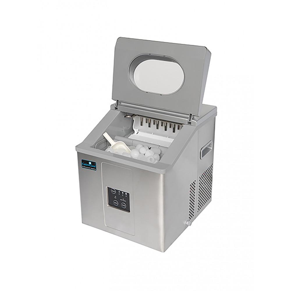 Ijsblokjesmachine - H 41.4 x 36 x 39.8 CM - 21.5 KG - 220 - 240 V - 110 W - Statische - R600A - CaterCool - 905610