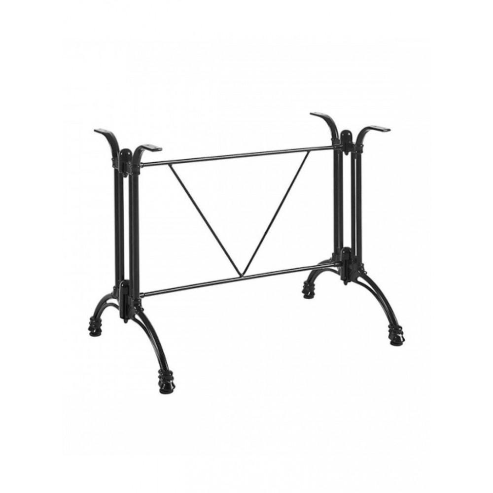 Tafelonderstel / Tafelpoot - Rectangular - Zwart - Promoline