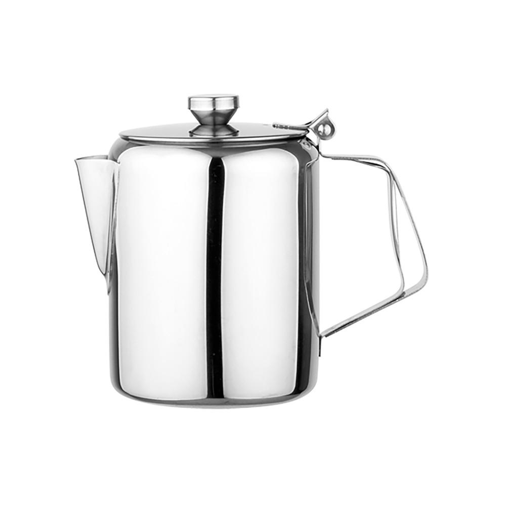 Koffiepot - H 14 CM - 0.28 KG - Ø10 CM - RVS - 1 Liter - 861009