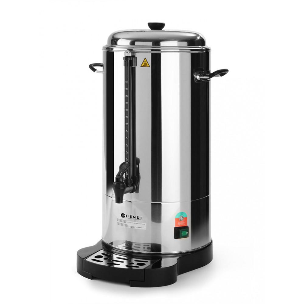 Koffie percolator - 15 liter - Dubbelwandig - Hendi - 211304