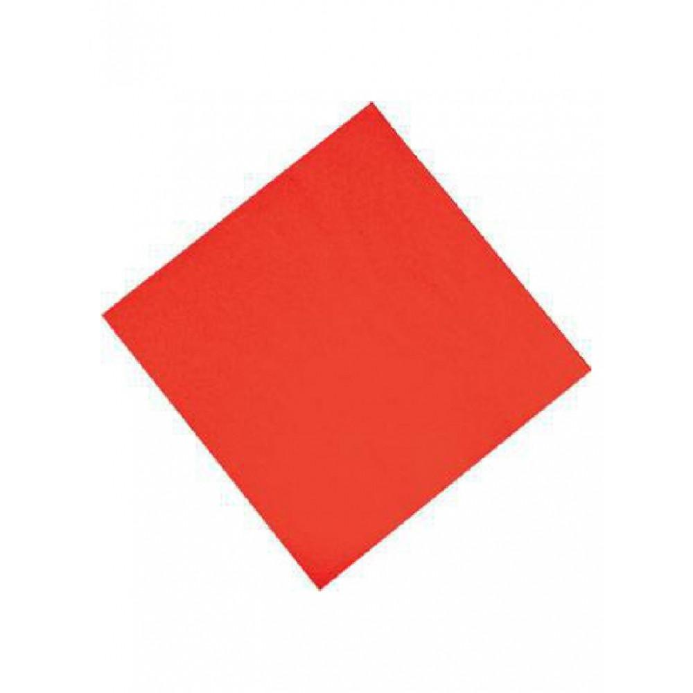 Professionele tissueservetten - Rood - 33x33 cm - CK875