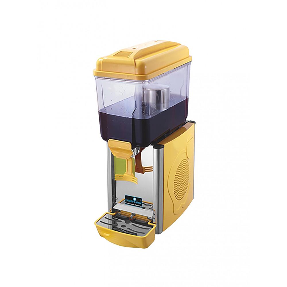 Drankendispenser - H 64 x 23 x 43 CM - 21 KG - 220 - 240 V - 290 W - Statische - R290A - Geel - 12 Liter - +3°C / +8°C - CaterCool - 688151