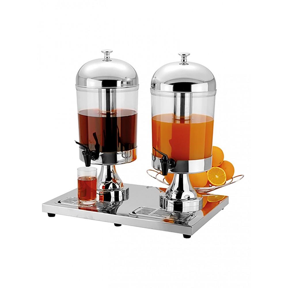 Sapdispenser - H 55 x 54 x 36 CM - 8.7 KG - Acryl - 8 Liter - 537012