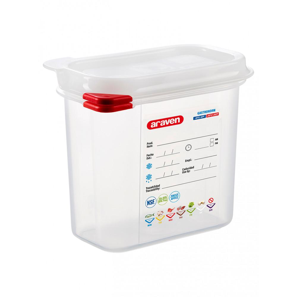 Voedseldoos - 1/9 GN - 150 mm diep - Polypropyleen - Promoline