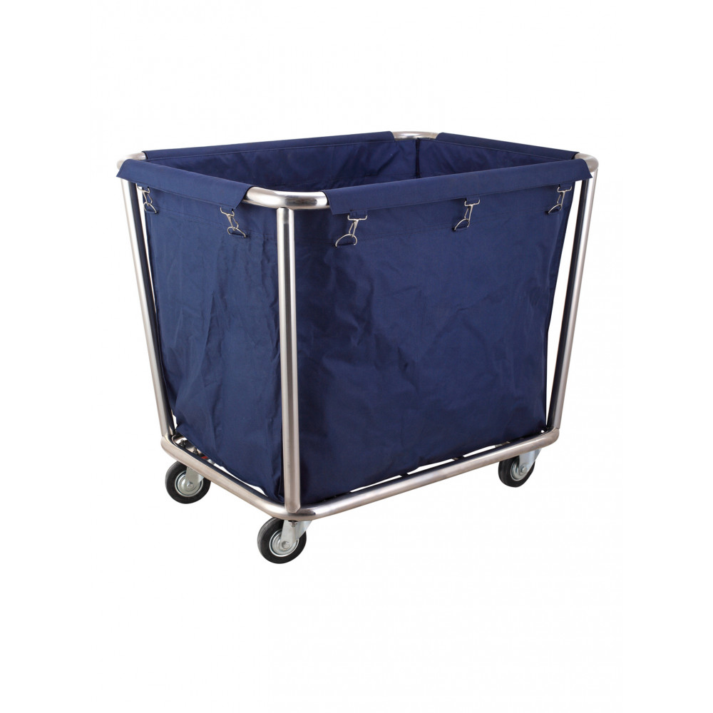 Wasgoed trolley - RVS - 900x650x850 mm - Hendi - 691083