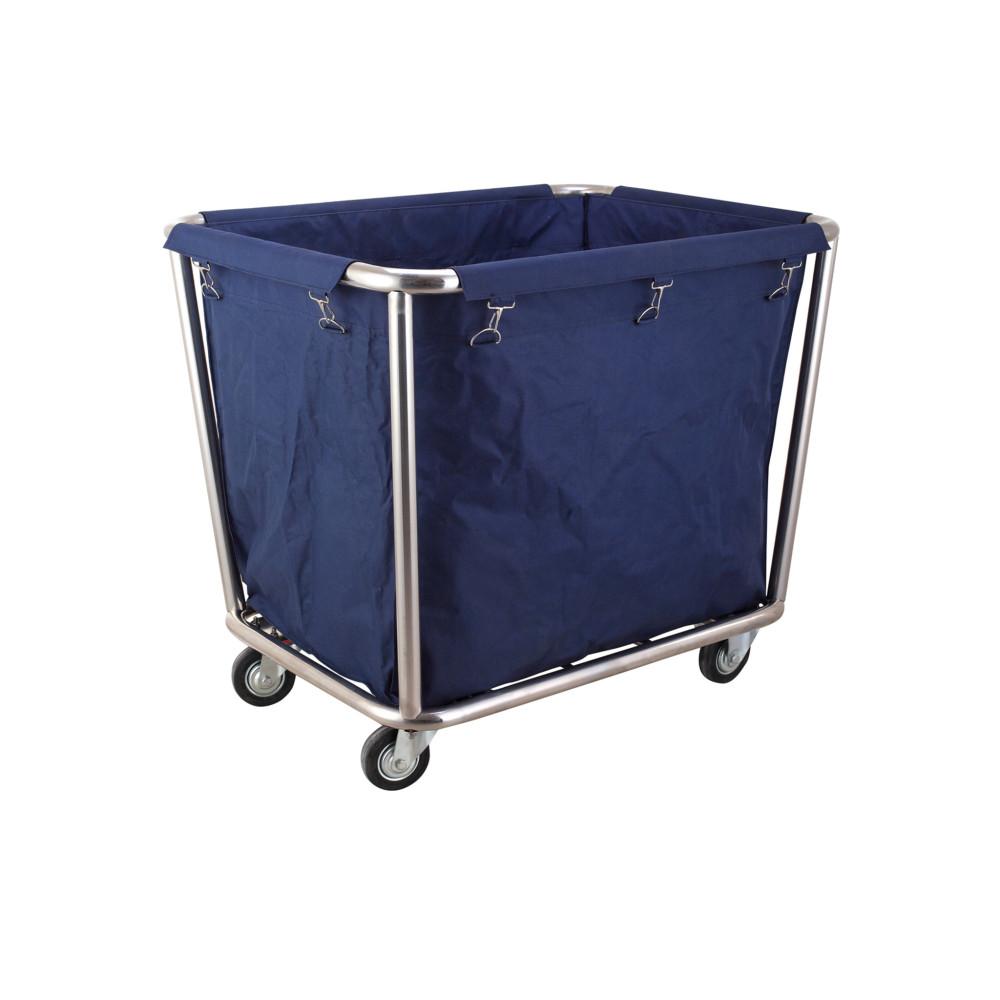 Wasgoed trolley - RVS - 900x650x850 mm - Hendi - 691083