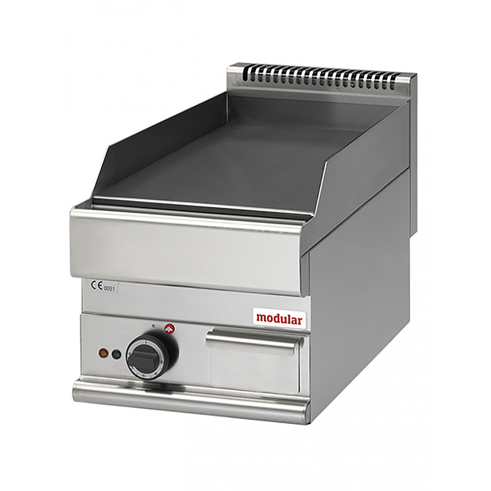 Bakplaat - H 28 x 40 x 65 CM - 32 KG - 4500 W - RVS - Glad - +50°C / +300°C - Modular - 316032