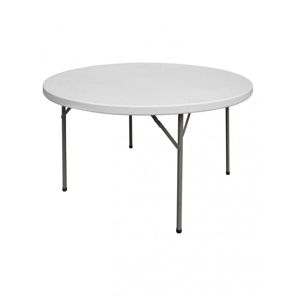 Inklapbare tafel - Rond - 122 CM - Promoline