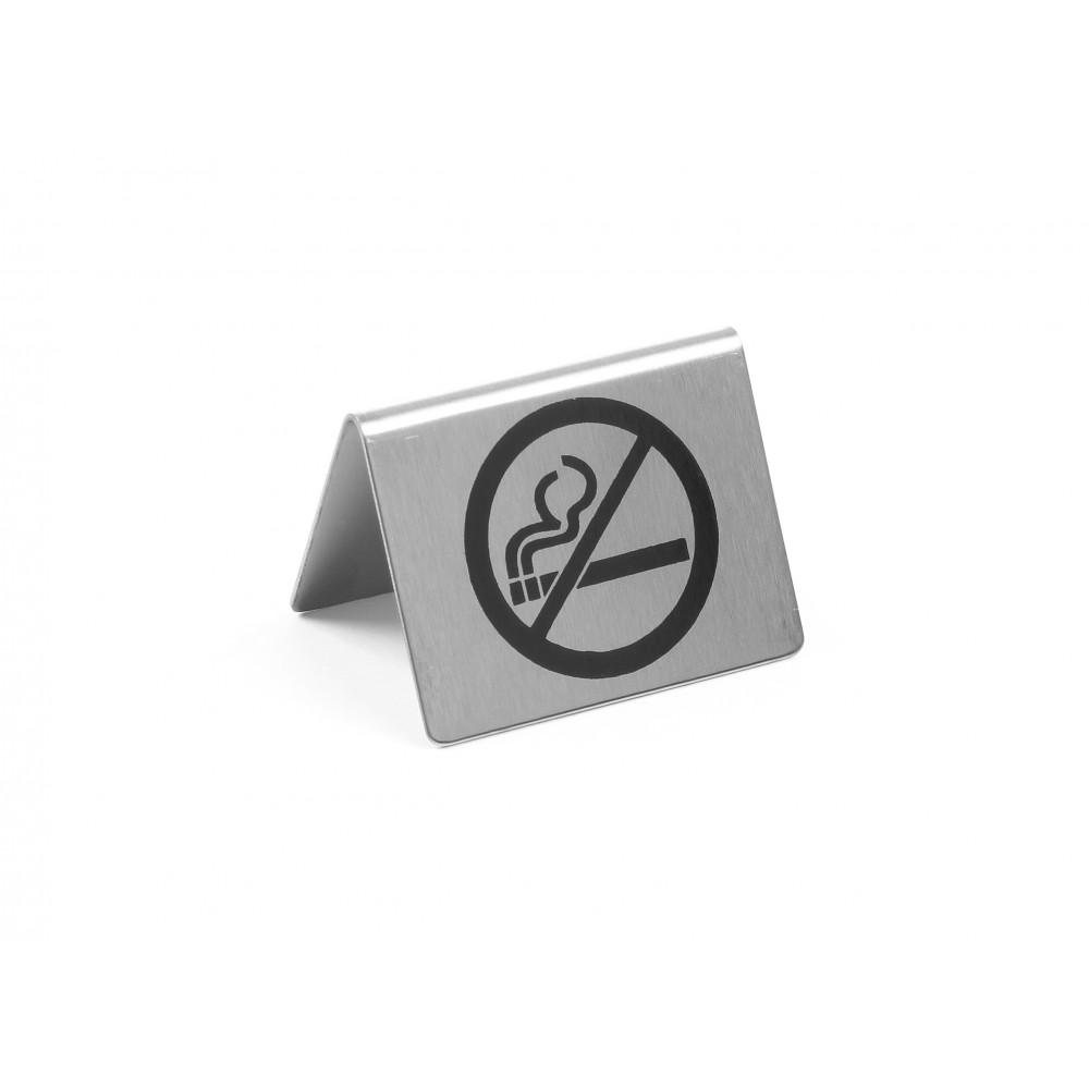 Tafelstandaard - Niet roken - 5,2 cm - RVS - 663660